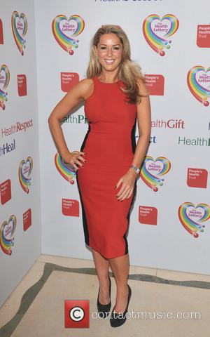 Claire Sweeney - The Health Lottery reception with Simon Cowell held at Claridge's - Arrivals - London, United Kingdom -...