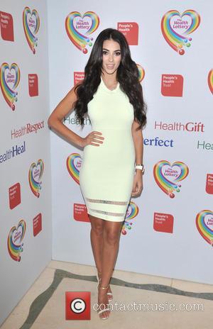 Georgia Salpa - The Health Lottery reception with Simon Cowell held at Claridge's - Arrivals - London, United Kingdom -...