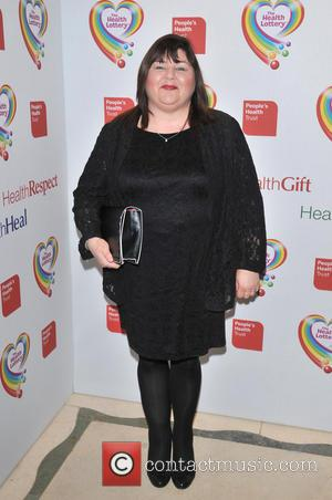 Cheryl Fergison - The Health Lottery reception with Simon Cowell held at Claridge's - Arrivals - London, United Kingdom -...