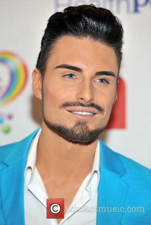 Rylan Clark - The Health Lottery reception with Simon Cowell held at Claridge's - Arrivals - London, United Kingdom -...