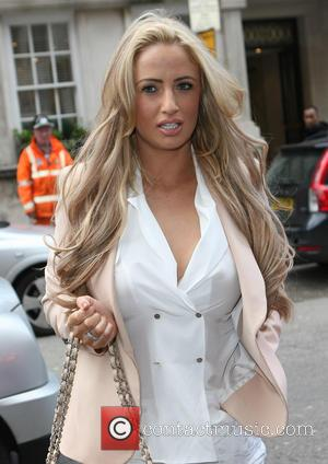 Chantelle Houghton - The Health Lottery reception with Simon Cowell held at Claridge's - Outside Arrivals - United Kingdom -...