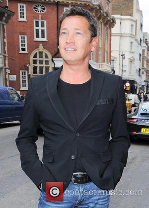 Sid Owen - The Health Lottery reception with Simon Cowell held at Claridge's - Outside Arrivals - London, United Kingdom...