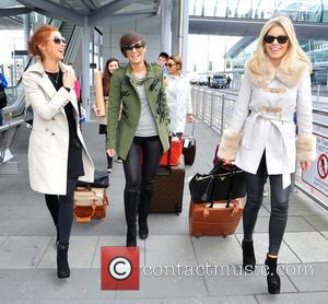 Una Healy, Frankie Sandford and Mollie King