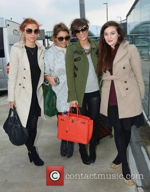 Una Healy, Frankie Sandford, Vanessa White and Maria An