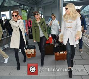 Una Healy, Frankie Sandford, Vanessa White and Mollie King