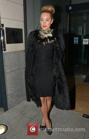 Kathryn Thomas - Celebrities seen leaving The Morrison Hotel to attend the VVIP Awards 2013 at The Academy - Dublin,...