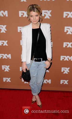 Sarah Jones - 2013 FX Upfront Presentation - Arrivals - New York City, NY, United States - Thursday 28th March...