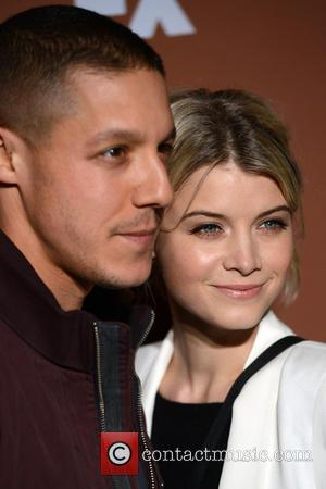 Theo Rossi and Sarah Jones