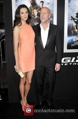 Emma Heming and Bruce Willis - G.I. Joe: Retaliation LA premiere, helt at the Grauman's Chinese Theatre - Arrivals -...