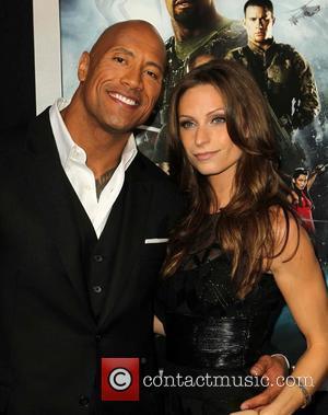Dwayne The Rock Johnson and Lauren Hashian