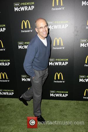 Jeffrey Katzenberg - McDonald's Premium McWrap Launch Party held at Paramount Pictures Studios - Arrivals - Hollywood, California, United States...