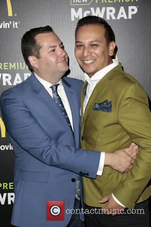 Ross Matthews and Salvador Camarena - McDonald's Premium McWrap Launch Party held at Paramount Pictures Studios - Arrivals - Hollywood,...