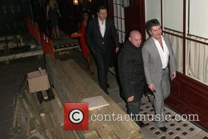 David Walliams, Sinitta and Simon Cowell