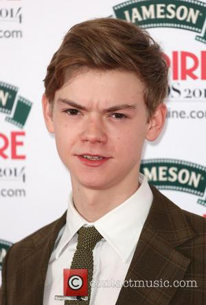 Thomas Brodie-Sangster - The Jameson Empire Awards 2014 held at Grosvenor House - Arrivals - London, United Kingdom - Saturday...