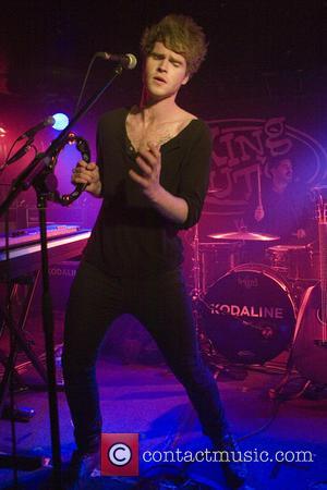 Stephen Garrigan - Kodaline playing a headline gig at King Tut's Wah Wah Hut - Glasgow, Scotland, United Kingdom -...