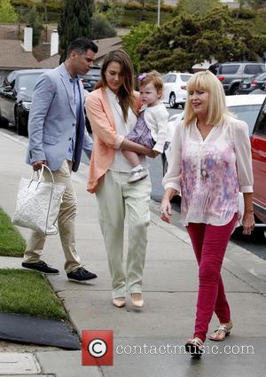 Jessica Alba, Haven Warren and Cash Warren