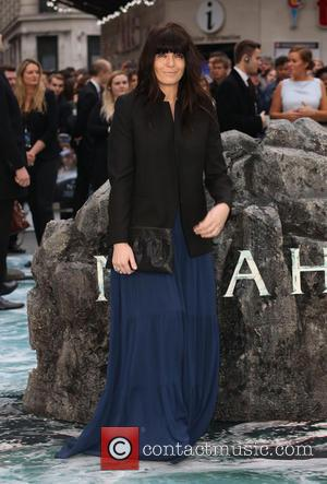 Claudia Winkleman - U.K. premiere of 'Noah' held at the Odeon Leicester Square - Arrivals - London, United Kingdom -...