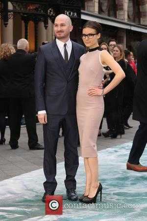 Darren Aronofsky and Brandi-Ann Milbradt - U.K. premiere of 'Noah' held at the Odeon Leicester Square - Arrivals - London,...