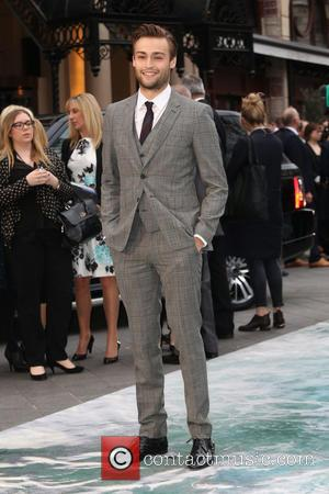 Douglas Booth - U.K. premiere of 'Noah' held at the Odeon Leicester Square - Arrivals - London, United Kingdom -...