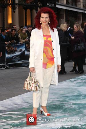 Cleo Rocos - Noah - UK film premiere held at the Odeon Leicester Square - Arrivals - London, United Kingdom...