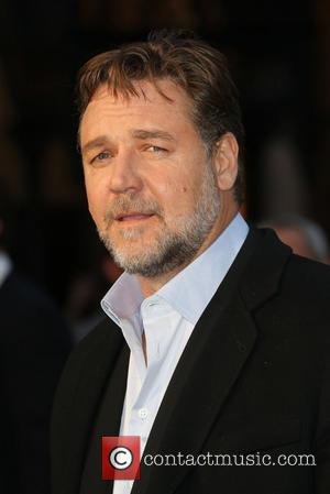 Russell Crowe - Noah - UK film premiere held at the Odeon Leicester Square - Arrivals - London, United Kingdom...