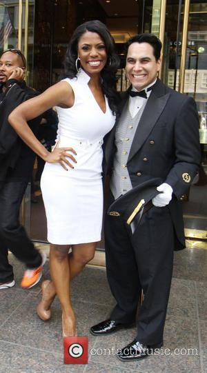 Omarosa Manigault - Omarosa and Donald Trump hold a press event at Trump Tower the morning after Omarosa was fired...