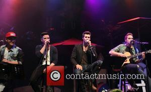 Carlos Pena, Logan Henderson, James Maslow, Kendall Schmidt and of Big Time Rush - Big Time Rush Press Conference And...