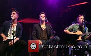 Logan Henderson, James Maslow, Kendall Schmidt and of Big Time Rush - Big Time Rush Press Conference And Tour Announcement...