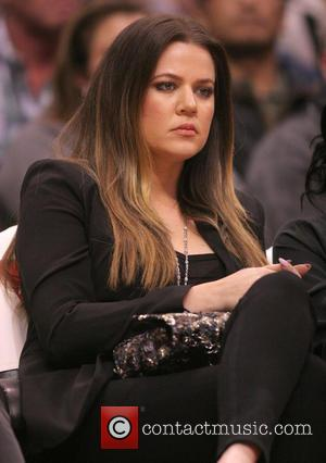 Khloe Kardashian - Celebrities watch the Los Angeles Clippers vs. Indiana Pacers at the Staples Center - Los Angeles, California,...
