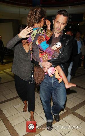 Halle Berry, Olivier Martinez and Nahla Aubry