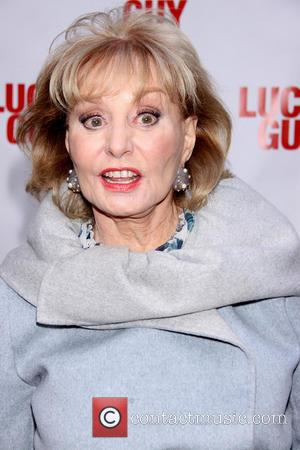 Barbara Walters - Premiere of 'Lucky Guy' at the Broadhurst Theatre -Arrivals - New York City, United States - Monday...