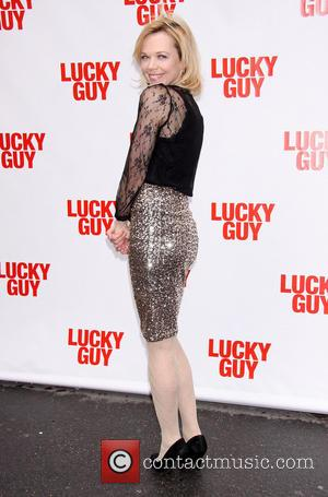 Emily Bergl - Premiere of 'Lucky Guy' at the Broadhurst Theatre -Arrivals - New York City, United States - Monday...
