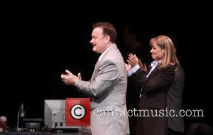 Tom Hanks and Deirdre Lovejoy