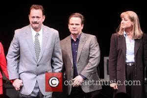 Tom Hanks, Peter Scolari and Deirdre Lovejoy