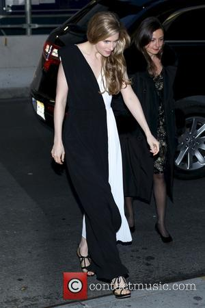 Brit Marling - New York premiere of 'The Company You Keep' shown at The Museum of Modern Art Fe -...