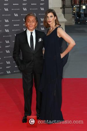Valentino and Guest - The Glamour of Italian Fashion held at the V&A - Arrivals - London, United Kingdom -...