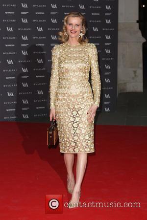 Eva Herzigova - The Glamour of Italian Fashion held at the V&A - Arrivals - London, United Kingdom - Monday...