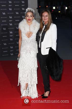 Rita Ora and Eva Cavalli