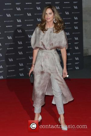 Trinny Woodall - The Glamour of Italian Fashion held at the V&A - Arrivals - London, United Kingdom - Monday...