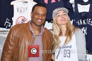 Robinson Cano and Jessica Hart