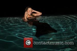 Mariah Carey - Mariah Carey looking like a mermaid