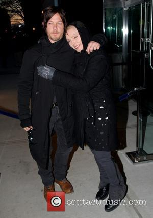 Norman Reedus and Debbie Harry - New York premiere of 'Trance' hosted by the Cinema Society & Montblanc at SVA...