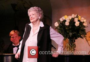 Elaine Stritch - Elaine Stritch performs during the opening night of 'Elaine Stritch At The Carlyle: Movin' Over And Out'...