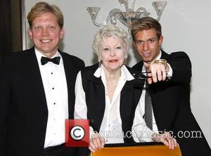 Rob Bowman, Elaine Stritch and Hunter Ryan Herdlicka