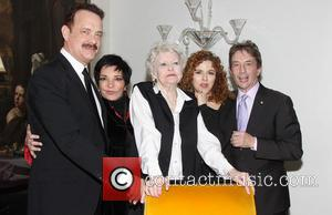 Tom Hanks, Liza Minnelli, Elaine Stritch, Bernadette Peters and Martin Short - Opening night of 'Elaine Stritch At The Carlyle:...