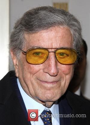 Tony Bennett - Opening night of 'Elaine Stritch At The Carlyle: Movin' Over And Out' at the Cafe Carlyle -...