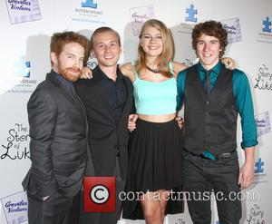 Seth Green, Lou Taylor Pucci, Mackenzie Munro and Tyler Stentiford