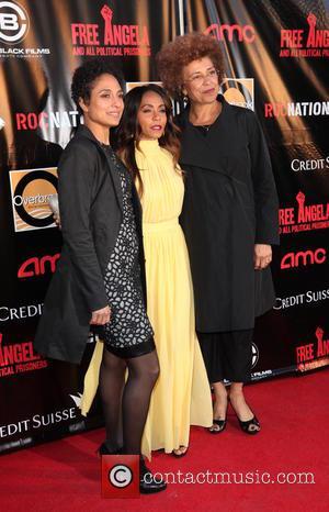 Jada Pinkett, (l-r) Director Shola Lynch and Activists Angela Davis