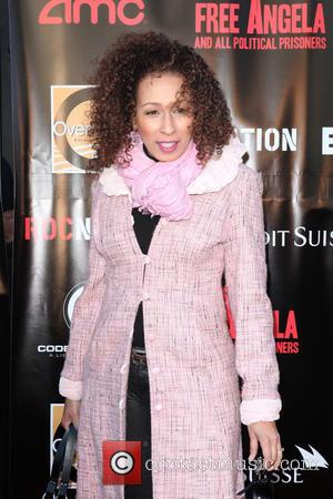 Tamara Tunie - New York Premiere of 'Free Angela and All Political Prisoners' held at The Schomburg Center Langston Hughes...