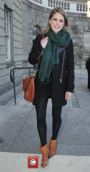 Amy Huberman - Cocktail reception held at Hugh Lane Gallery ahead of 'Oblivion' premiere - Dublin, Ireland - Wednesday 3rd...